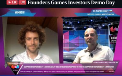 Bloom wins Webit Virtual Founders Games Investors Demo Day with 2.8k audience!