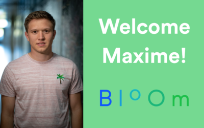 Maxime joins our R&D team!